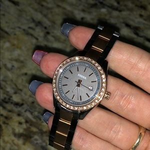 Fossil Diamond Watch